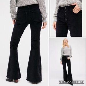 FP black flare jeans